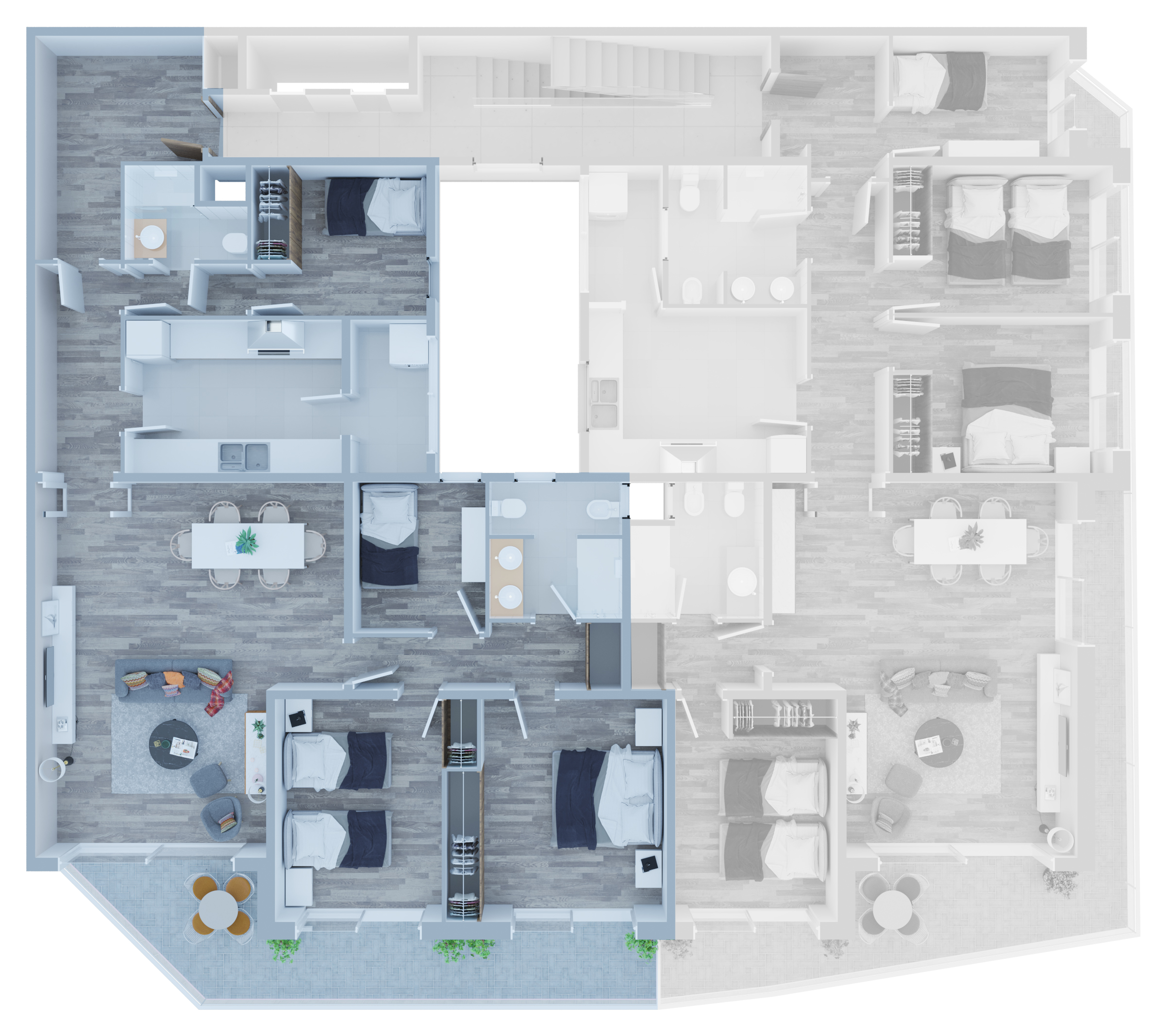 Apartamento A - 01