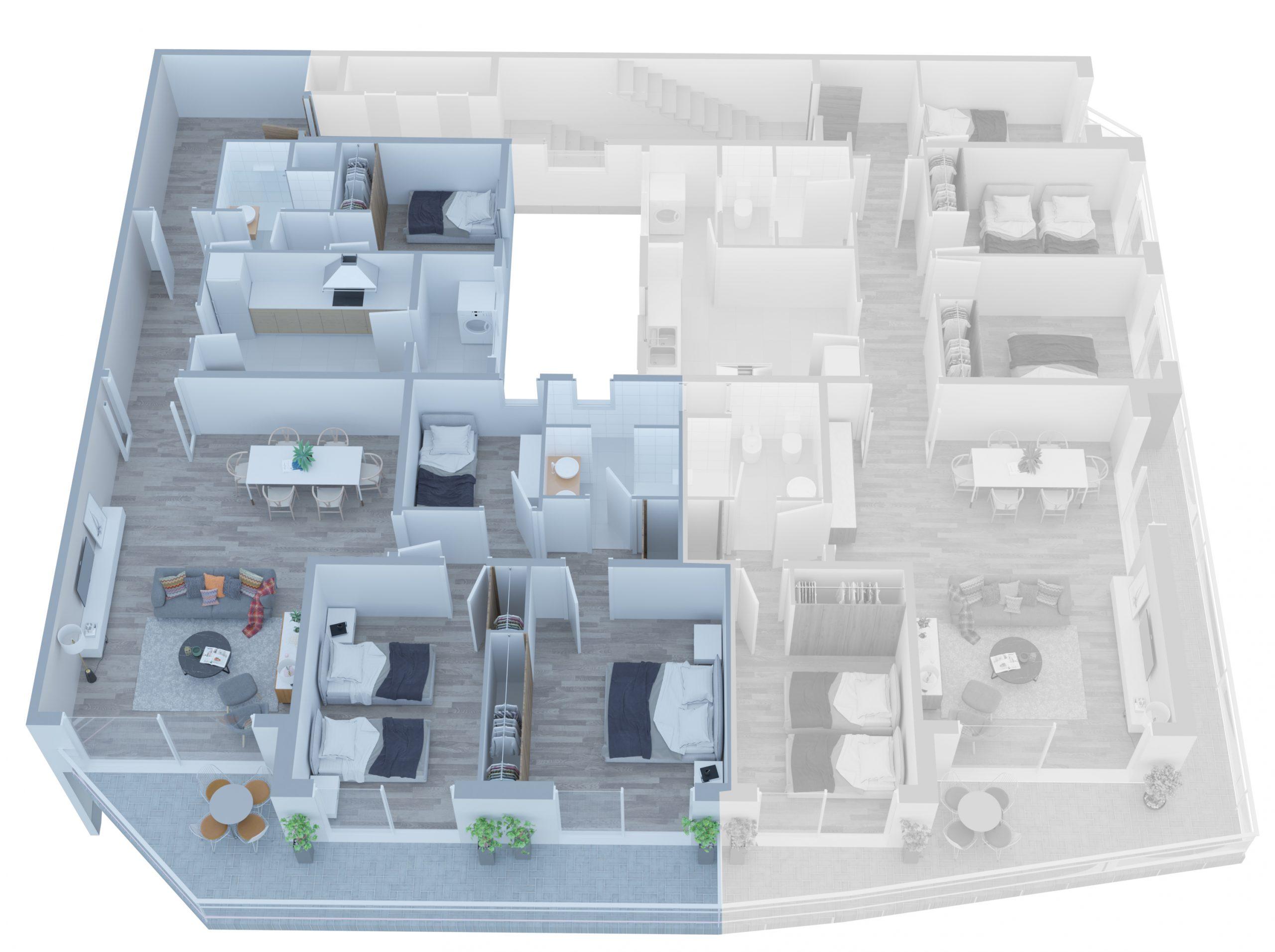 Apartamento A - 02