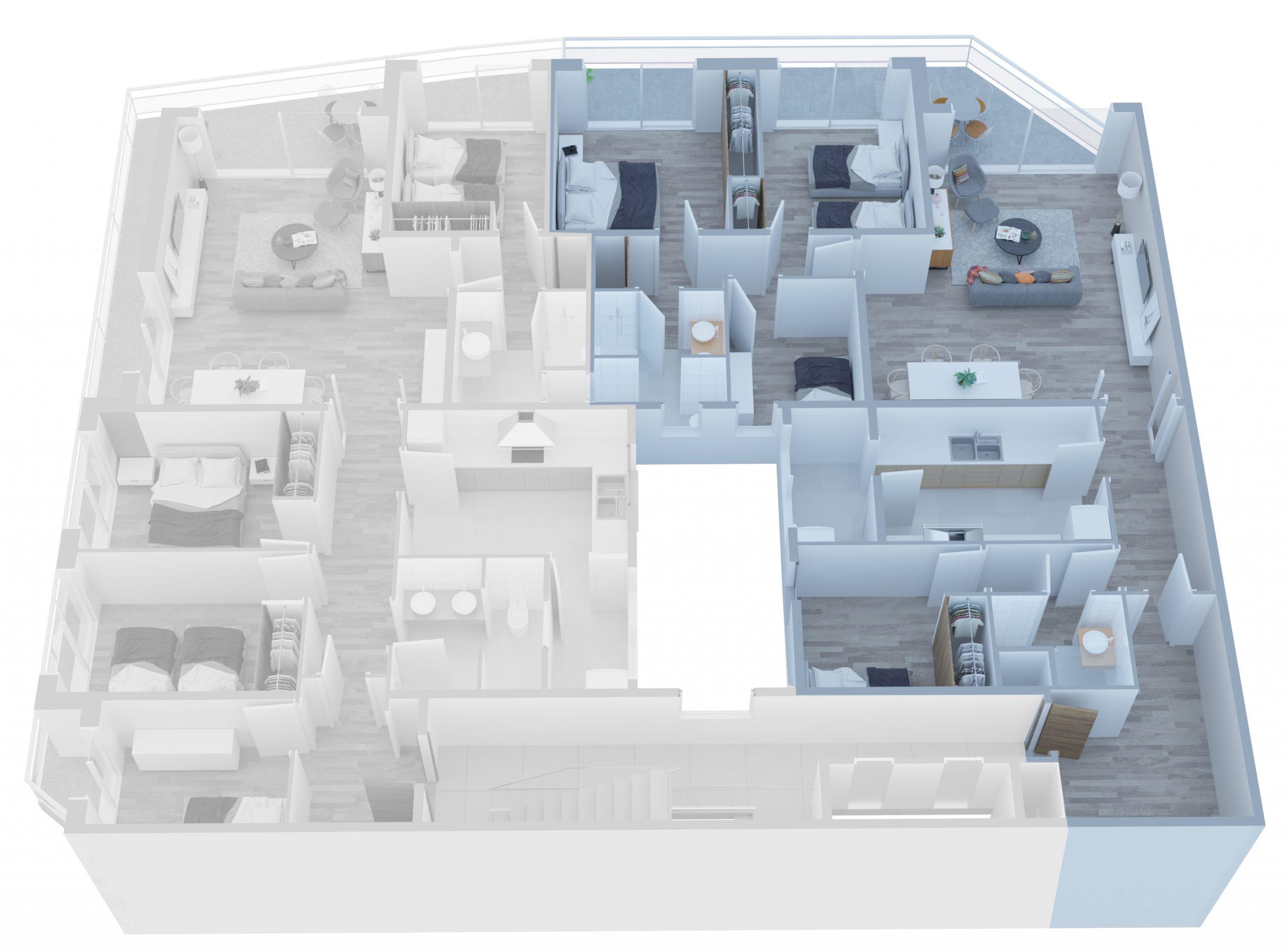 Apartamento A - 03