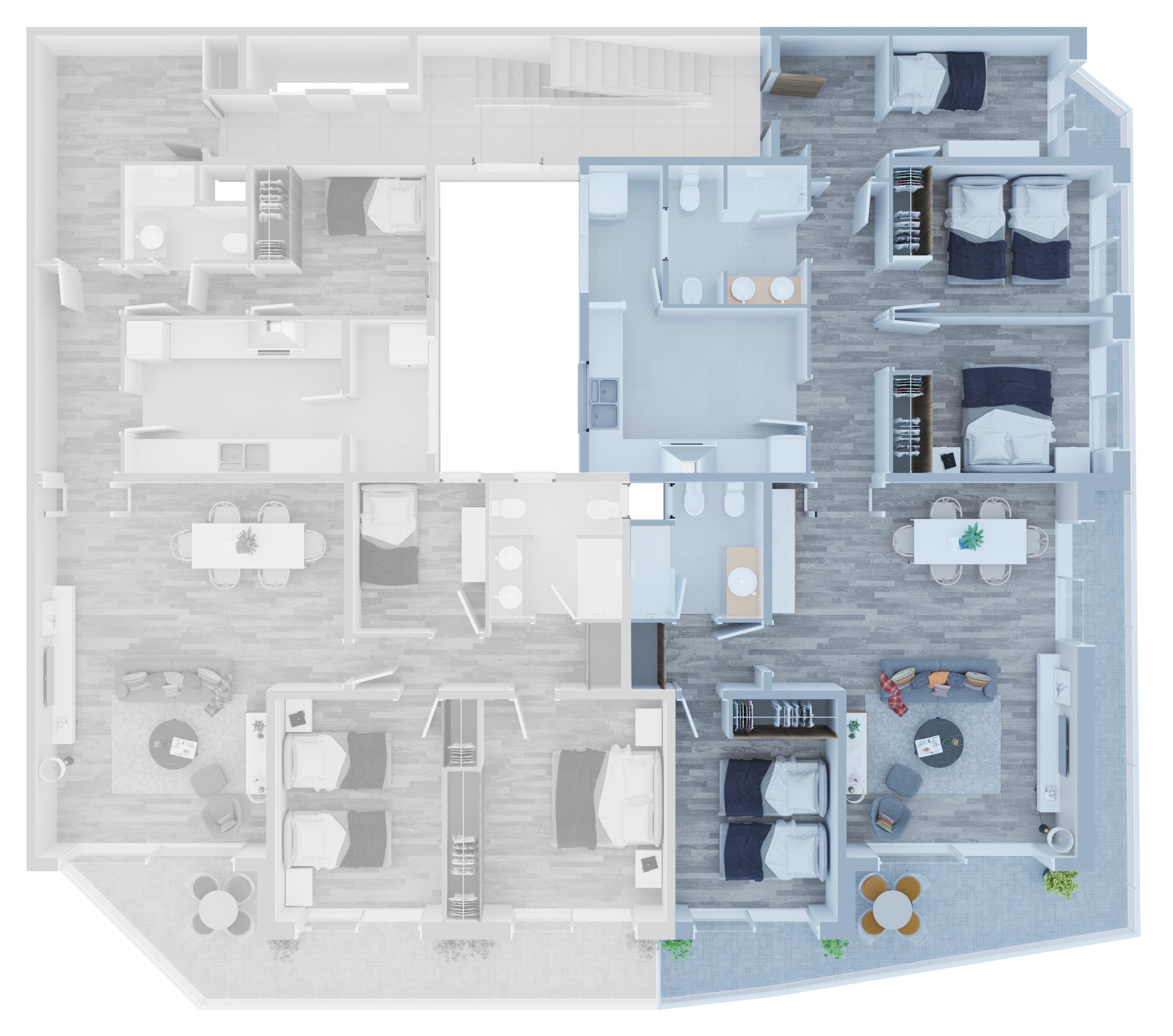 Apartamento B - 01