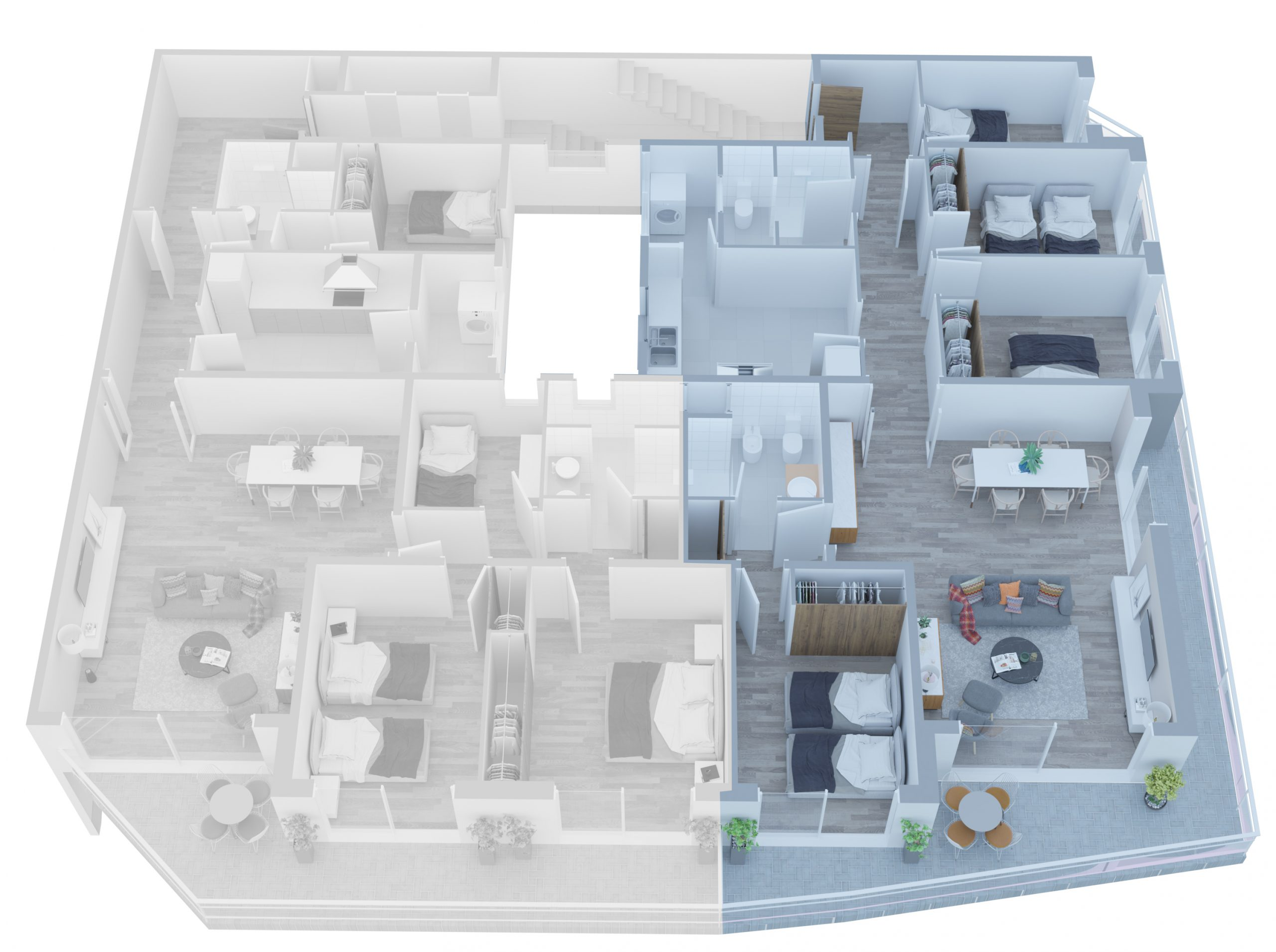Apartamento B - 02