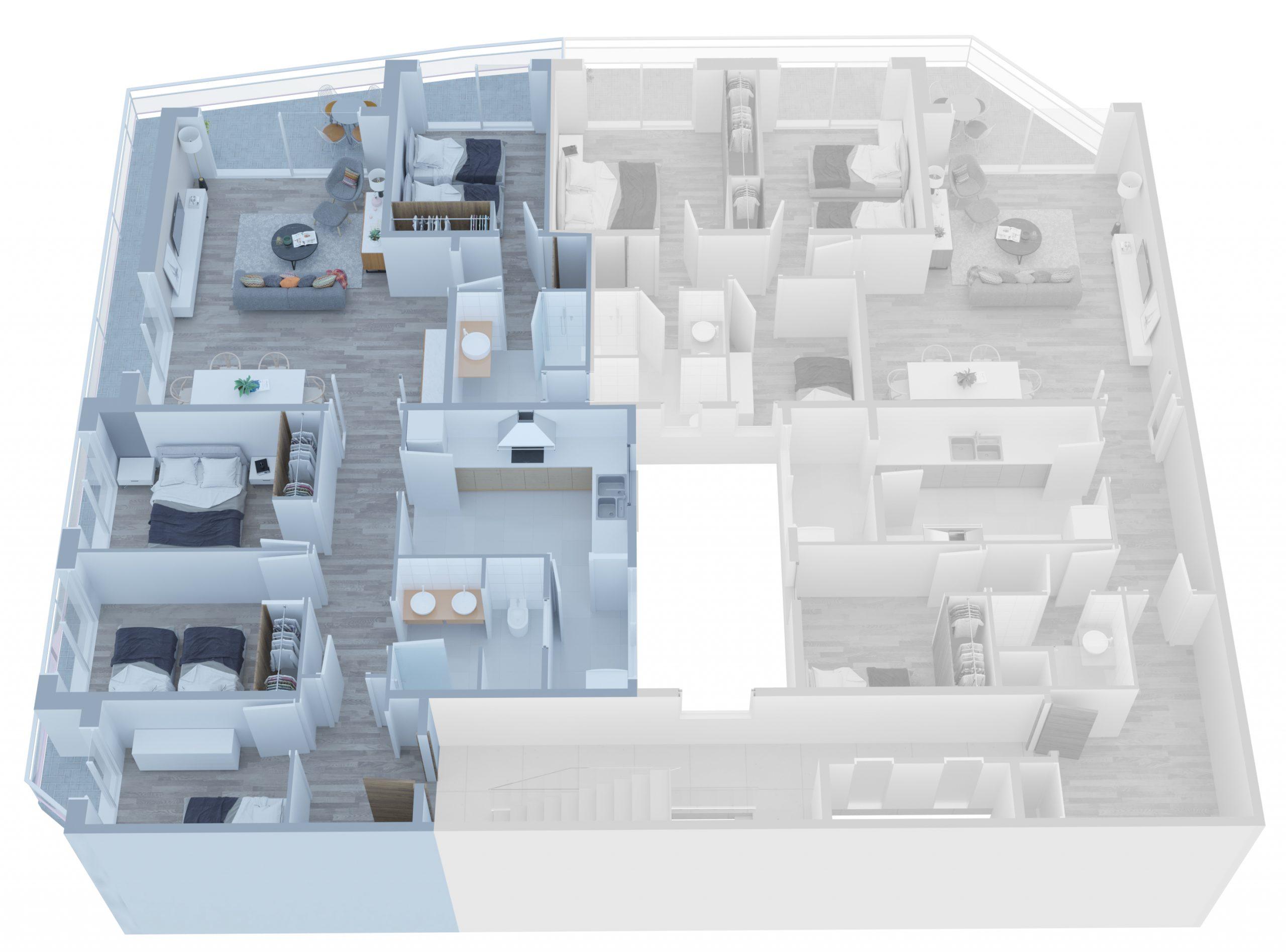 Apartamento B - 03