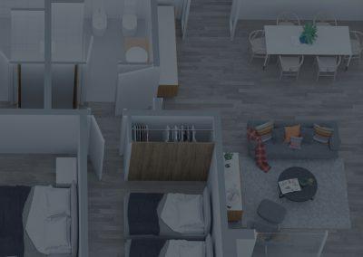 Vivienda Virtual 3D – Vía Augusta 164